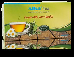 билков чай за намаляване на киселинноста в тялото